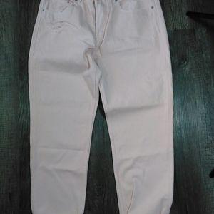 NWT H&M  &Denim button fly boyfriend jeans